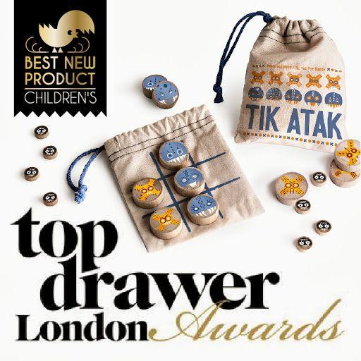 TIK ATAK - Jeu du Morpion - Tic-Tac-Toe - Naughts & Crosses - Top Drawer london