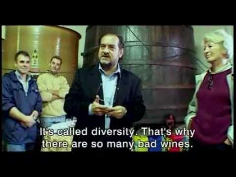 """MONDOVINO: Nesse documentário, Jonathan Nossiter decide investigar a globalização de uma forma diferente: utilizando o vinho como pano de fundo da sua pesquisa. No filme, ele narra a """"guerra"""" entre as famílias produtoras – como na Califórnia e Borgonha. Muito conceituado mundo afora, o filme dá um novo olhar para o mundo dos vinhos."""