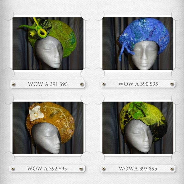 A collection of Berets by #wowcreationsqld