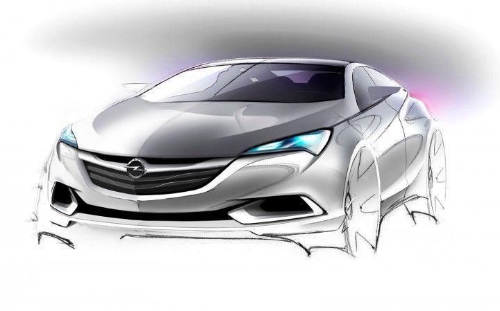 2016 Opel Astra - Design Sketch