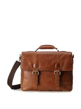 44% OFF The British Belt Company Men's Blakeney Satchel (Tan)