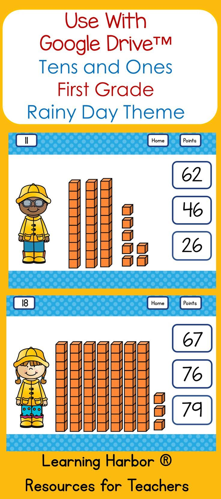 Here Is A Tens And Ones Math Activity To Use With Google Classroom Or Google Drive This Interactive Self Cor Tens And Ones Math Classroom Math Activities