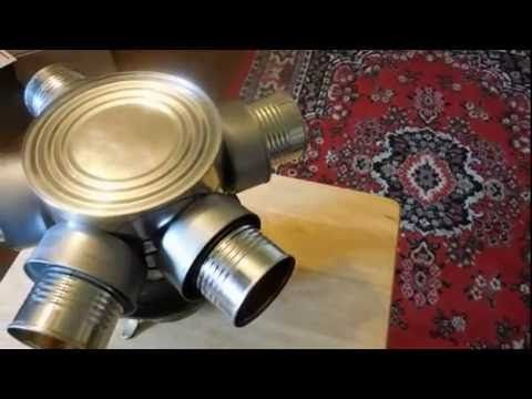 Coffee Can Candle Heater.  Published on May 22, 2016 How to make a heater from old cans that everybody throws away.