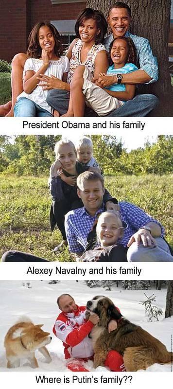 Where Is Putin's Family?