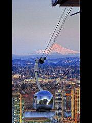 Portland Aerial Tram 1 - HDR