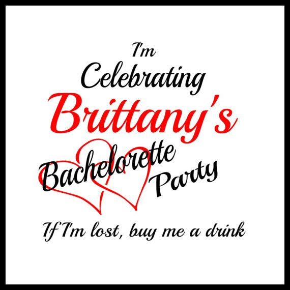 bachelorette tattoos bachelorette party by SharonHArtDesigns