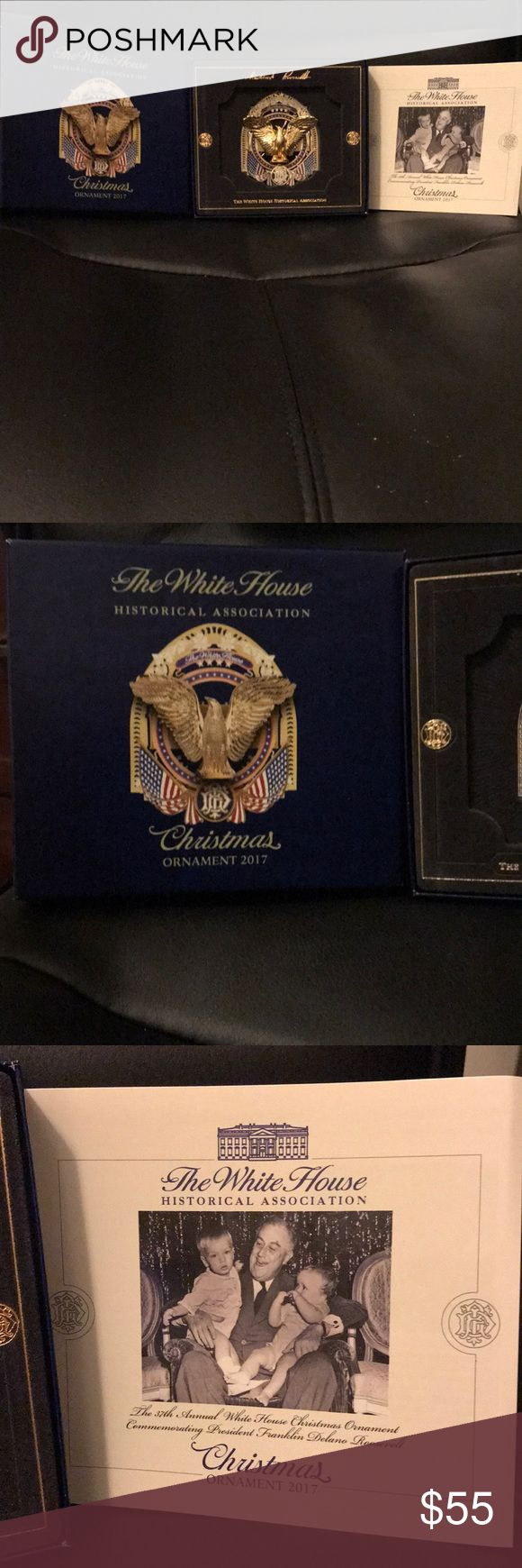 The The White House Christmas Ornament 2017 BNWT The White House Historical Association Christmas Ornament 2017. A collectors item and a definite must have for this just past Christmas and every Christmas to come in the future. Free gift with purchase Other