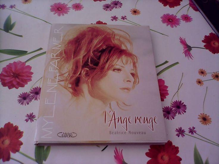 RARE L ange roux - Mylène Farmer grand format - épuisé