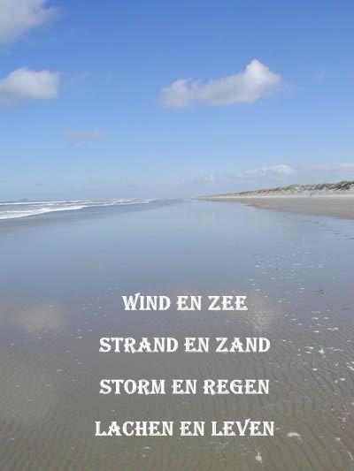 Wind en zee...