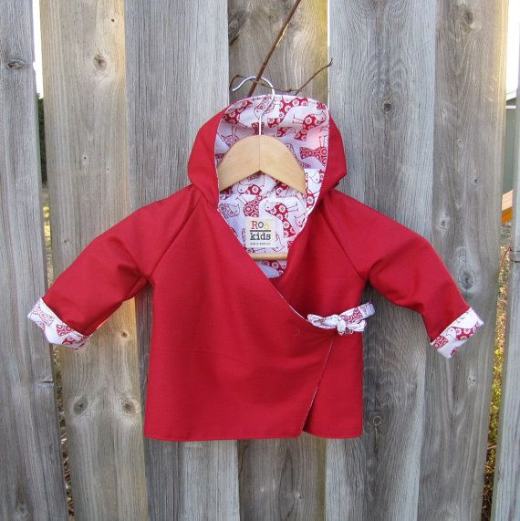 Children's Hoodie Jacket Size 1 by ReneeBou on Etsy, $49.95