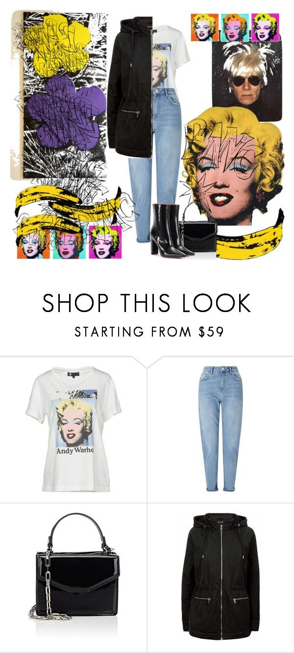 """""""Screenprints"""" by anasalomegonzalez on Polyvore featuring Andy Warhol, Miss Selfridge, Deux Lux, Jaeger and Vetements"""