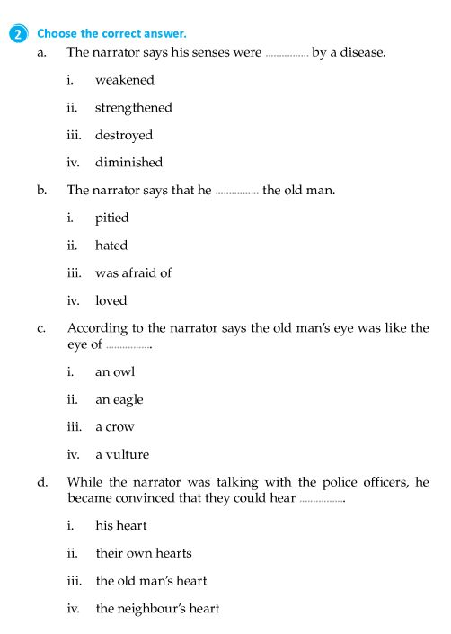 literature grade 8 short stories the tell tale heart 7 english literature grade 8. Black Bedroom Furniture Sets. Home Design Ideas