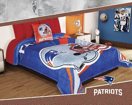 Cobertor Ligero NFL Patriots Excel