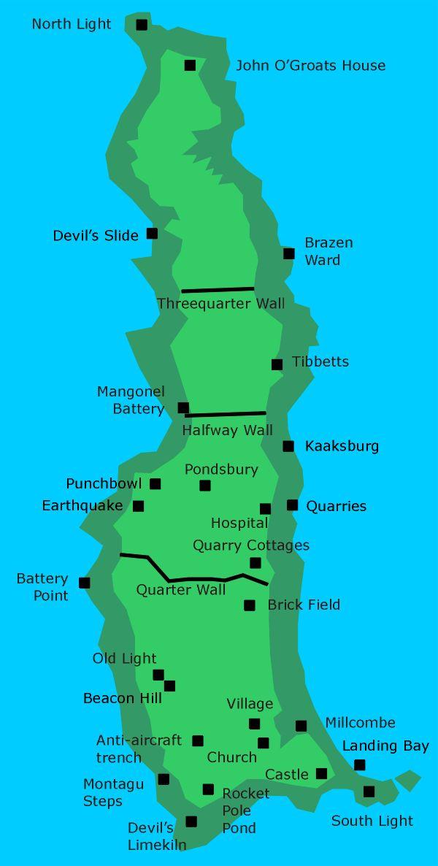 Boigu Island Map