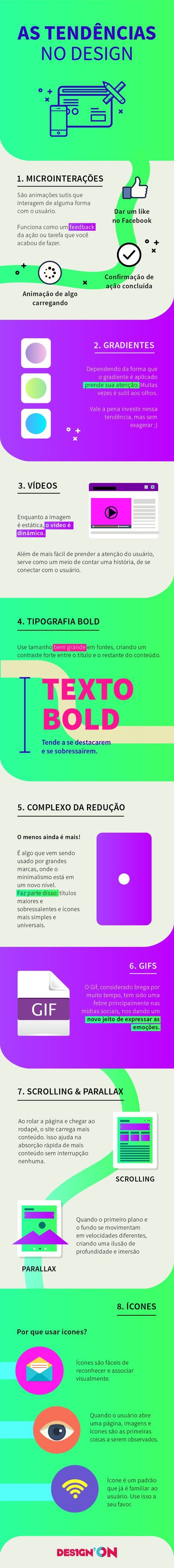 As Tendências do Design - são 8 tendências que estão em alta! - Blog Des1gn ON