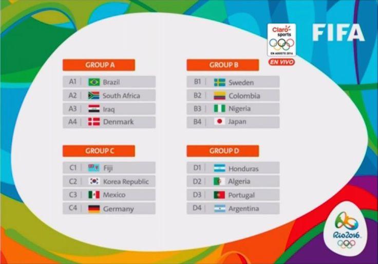 Se llevó a cabo el sorteo para el futbol en los Juegos Olímpicos de Río de Janeiro 2016, donde la Selección Mexicana de Futbol salió como cabeza de serie. Con esto, los futbolistas aztecas buscarán defender su campeonato que lograron la anterior justa olímpica en Londres 2012.