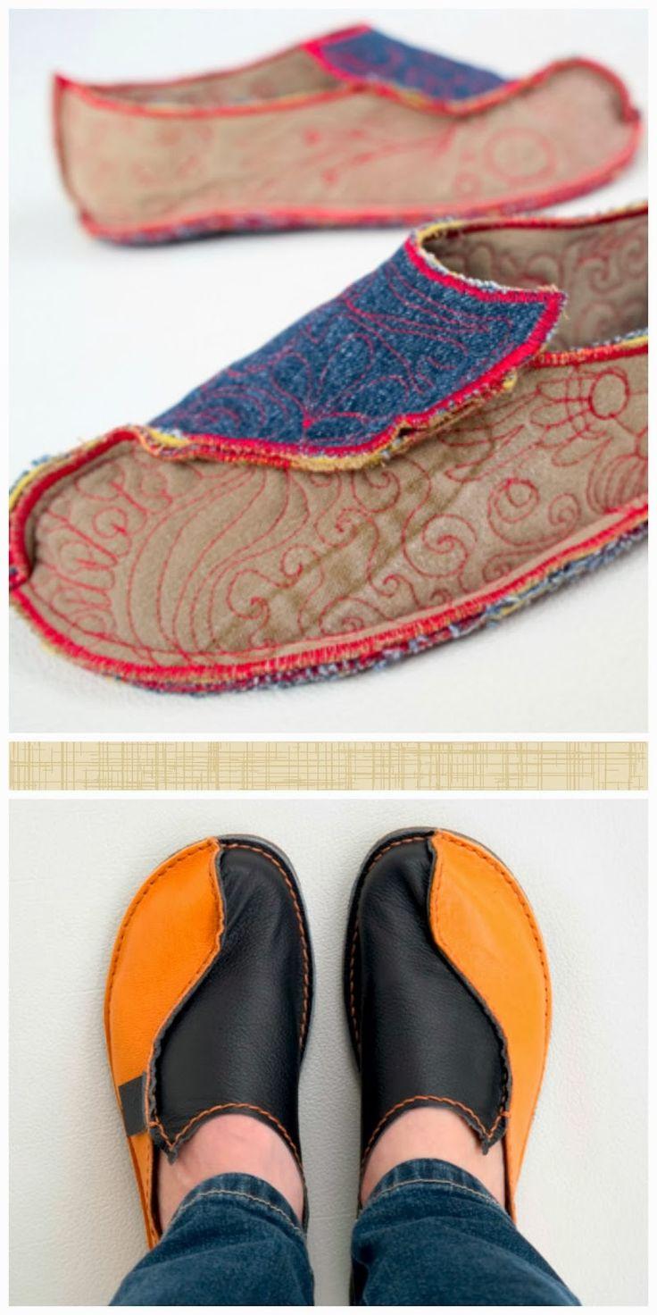 enrHedando: Como hacer Zapatos Mocasines Paso a Paso