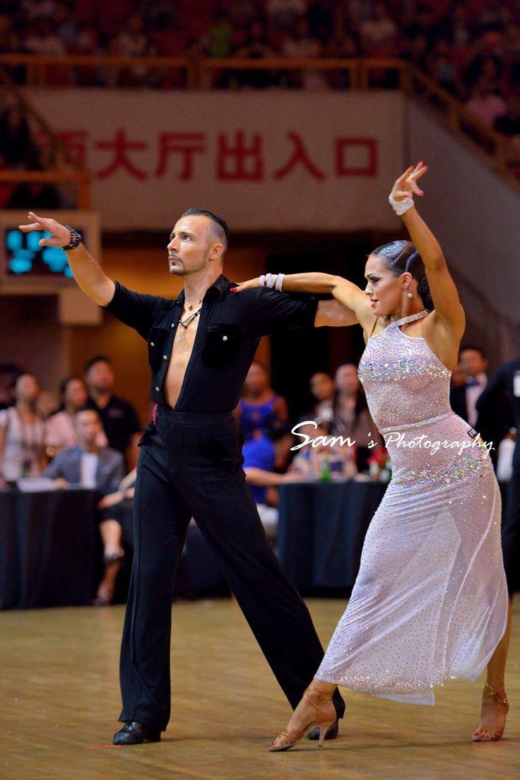Maurizio Vescova and Andra Vaidilaite - Blackpool Dance Festival China Professional Latin 2016