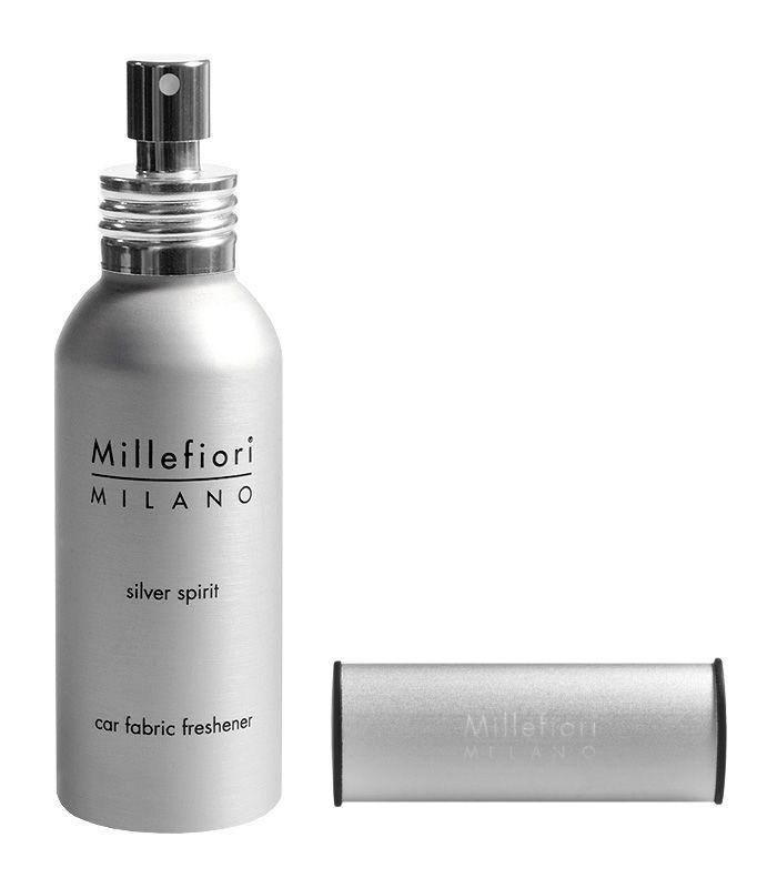 Millefiori Milano – set vůně do auta Silver Spirit