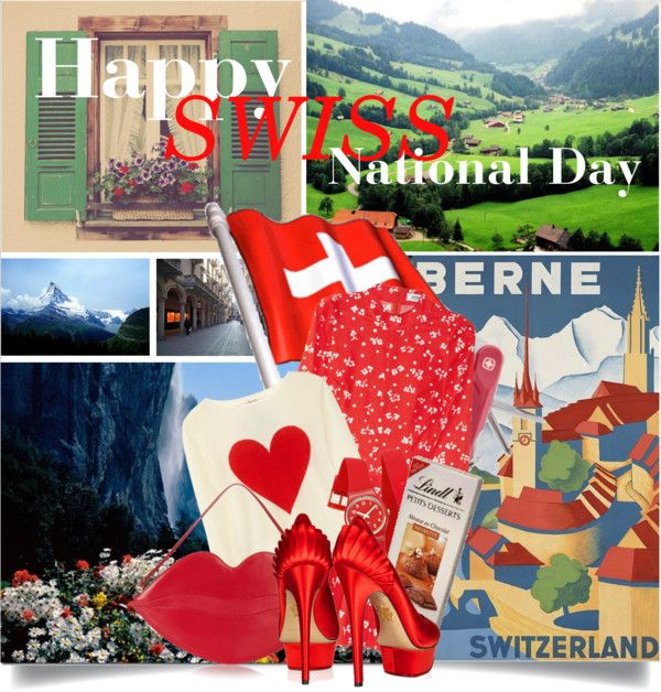 Swiss National Day  http://www.sandrascloset.com/happy-swiss-national-day/