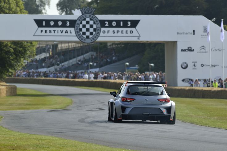 SEAT Leon Cup Racer at the Goodwood Festival of Speed