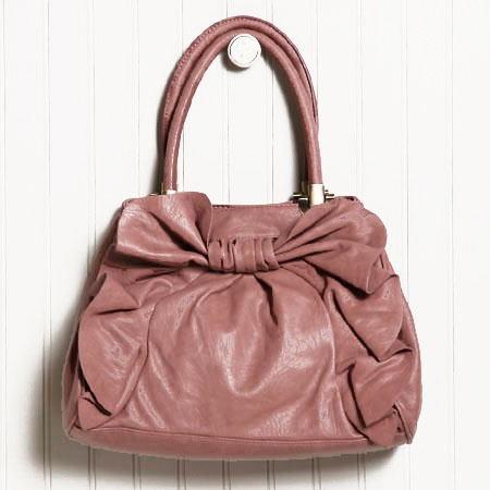 the sunset's serenity handbag in mauve by Melie Bianco