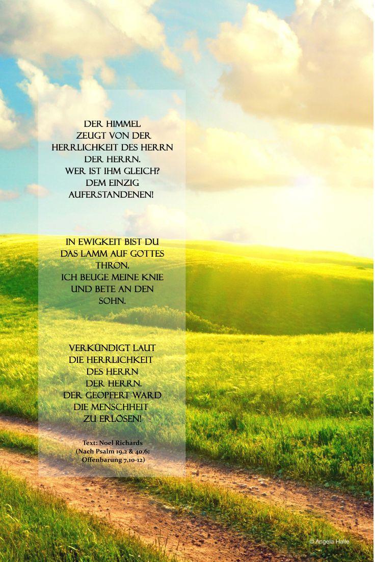 Der Himmel zeugt   Bibel vers, Bibelverse, Christliche zitate