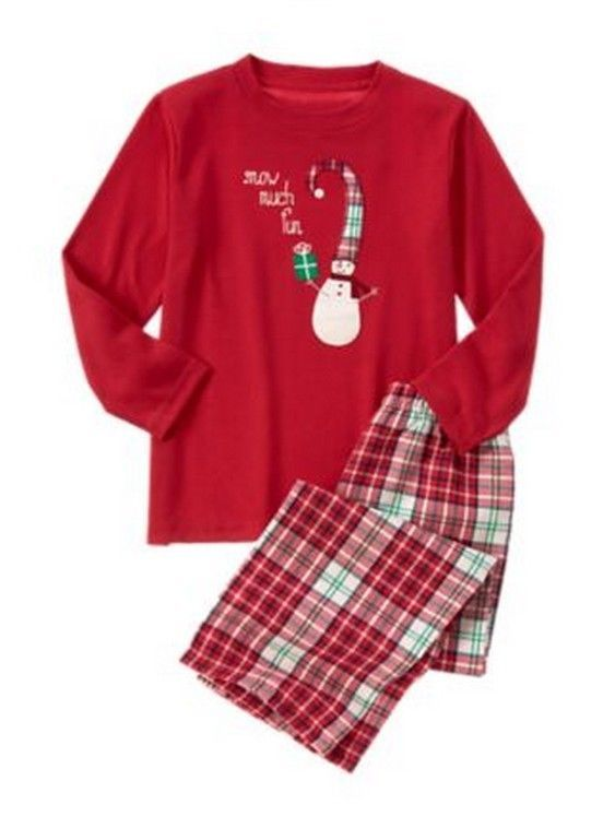 New Gymboree HOLIDAY GYMMIES Boy Pajamas PJS Snow Snowman Toddler Mixed Size  #Gymboree #TwoPiece