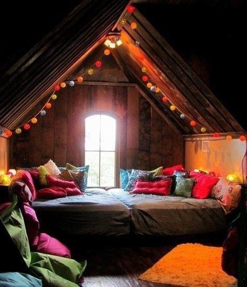 fairyland bedroom | Cool bedroom nook via www.Facebook.com/Fairyland.Noor | Home