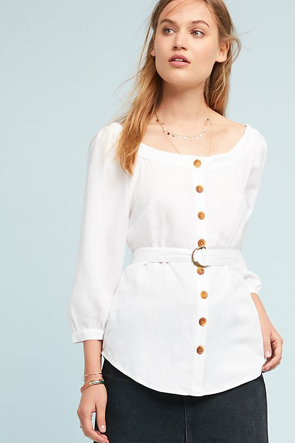 6081b87d90b8 Slide View  1  Alanis Belted Blouse