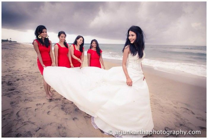 Bridal Outfit Colors and Wedding Photographs : Arjun Kartha Reports
