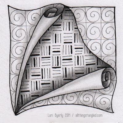 one zentangle a day: day 37 © Lori Byerly