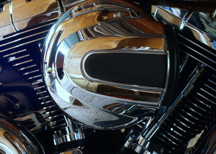 Rich #chrome plating work in new style and extra shine at ChromeFix #UK. #ChromePlating Read in detail: http://www.chromefix.co.uk/content.php?pagename=chrome-plating