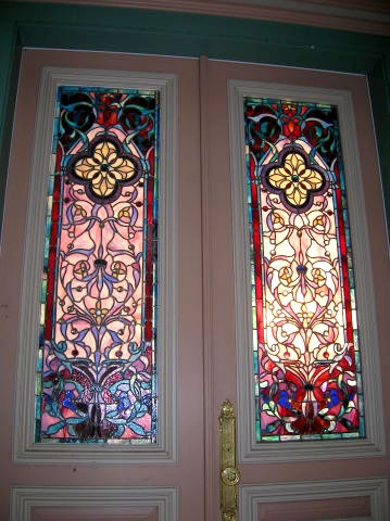 Best 25 victorian stained glass panels ideas on pinterest for Victorian stained glass window film