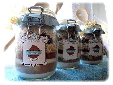 Cookie jar - ingredience na sušenky ve sklenici :)
