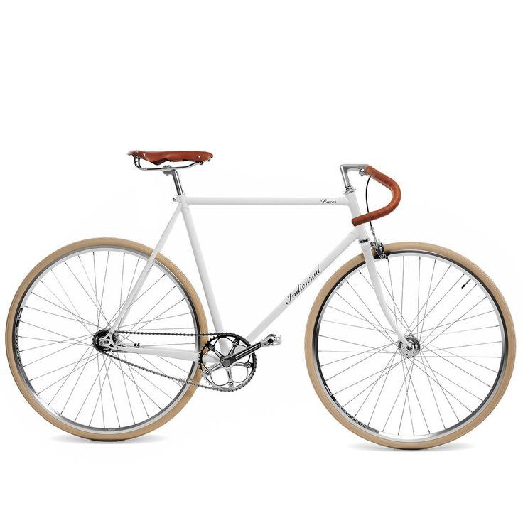 Rennrad Racer Weiß L von Indienrad