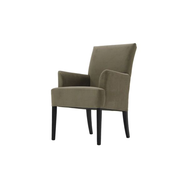 Eetkamerstoel Java van het merk Furniture BV wordt standaard geleverd met knopen. Tevens is dit model leverbaar in diverse kleuren en materialen en zijn er diverse pootmogelijkheden.