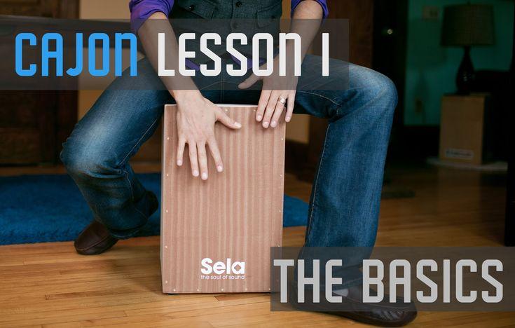 Cajon Lesson 1 - The Basics