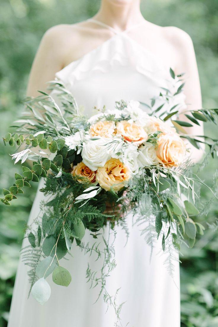 Rose & Greenery Bridal Bouquet