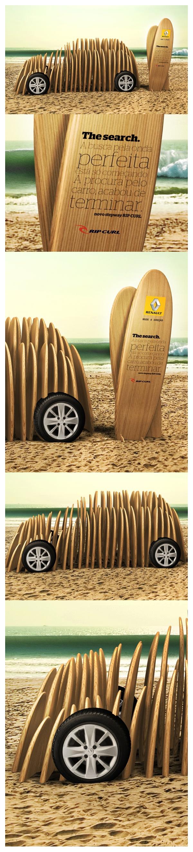 'Sandero Rip Curl - Ativações e PDV' - advertising campaign by Renault