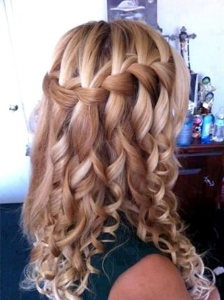 # Hairstyles For Confirmation – 8 best # Hairstyles For Confirmation images on Pinterest | Hair … How to Make a Waterfall Hairstyle for the Conf …