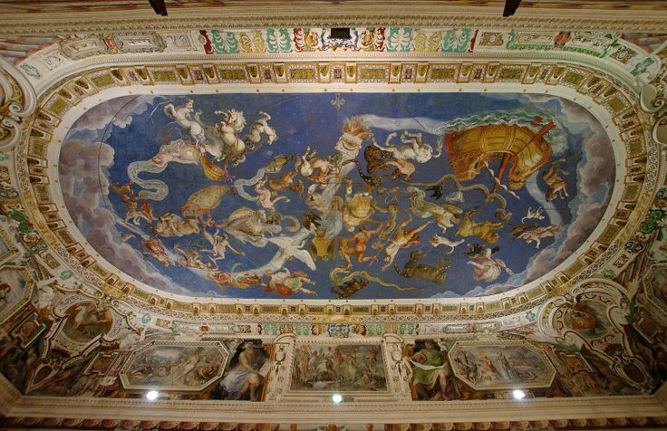 Farnese's Principle Castle at Caprarola (Viterbo) Interiors