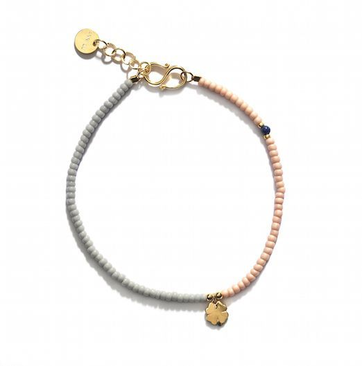 ANNI LU LUCKY bracelet / grey via ANNI LU. Click on the image to see more!