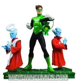 Green Lantern Legacies Multi-Part Statue Part 1 Hal Jordan And The Guardians Of The Universe - Midtown Comics