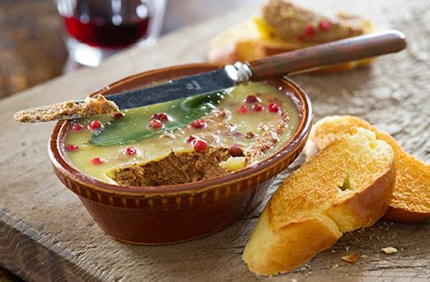 Lamb Liver Pate with bacon, sweet sherry and fresh herbs