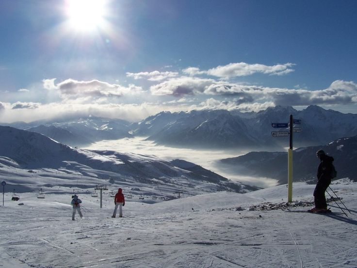 ideální sněhové podmínky