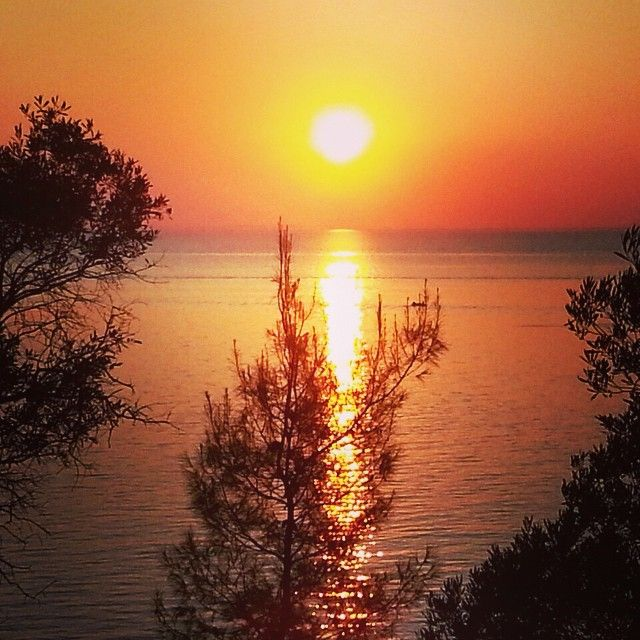 Sunset at Halkidiki