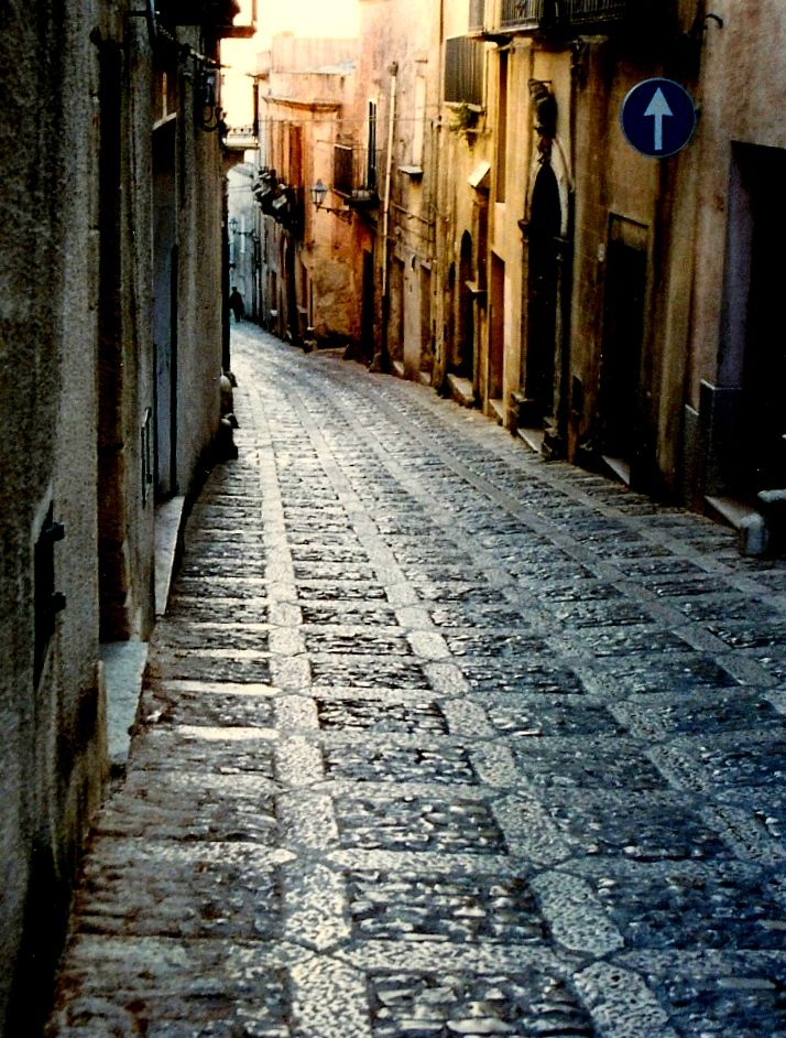 I loved climbing the curving, cobble-stoned streets of erice