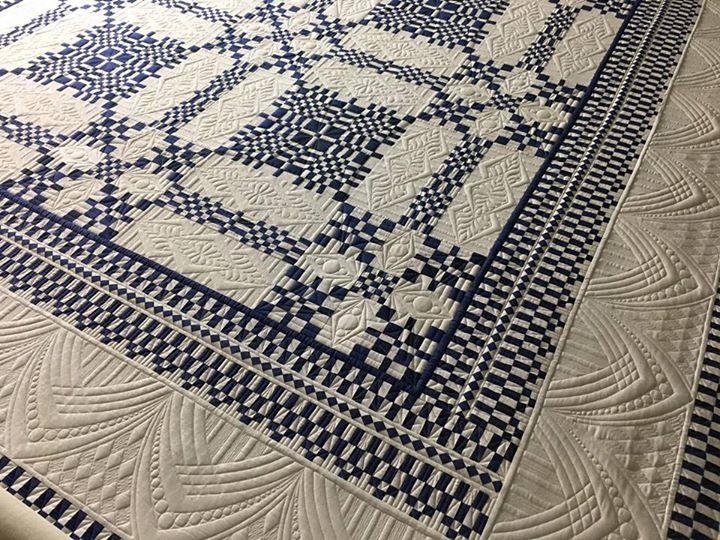 558 Best Blue And White Quilts Images On Pinterest