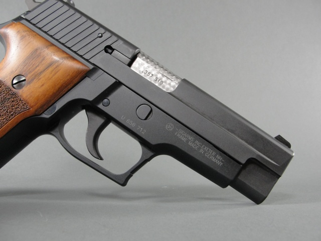 Sig Sauer P226 in 357sig, customized by Teddy Jacobson-- master pistolsmith.